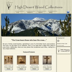 High Dessert Wood Collections