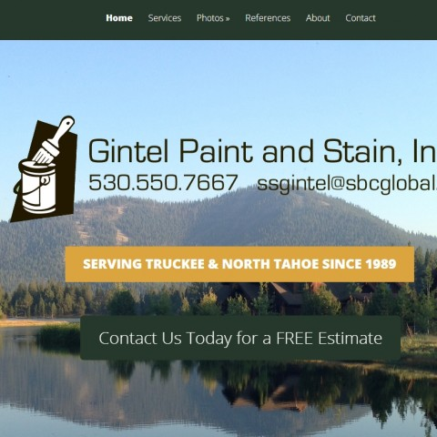 Gintel Paint & Stain