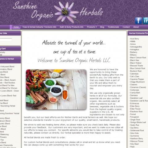 Sunshine Organic Herbals