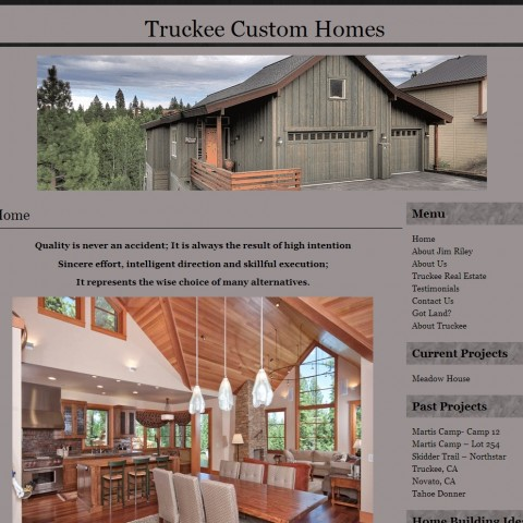 Truckee Custom Homes