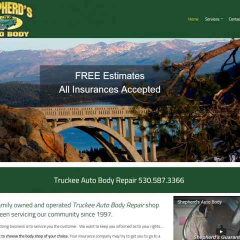 Shepherds Auto Body