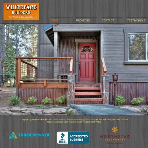 Whiteface Builders
